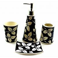 Набор  аксессуаров для ванной комнаты Листья32746A