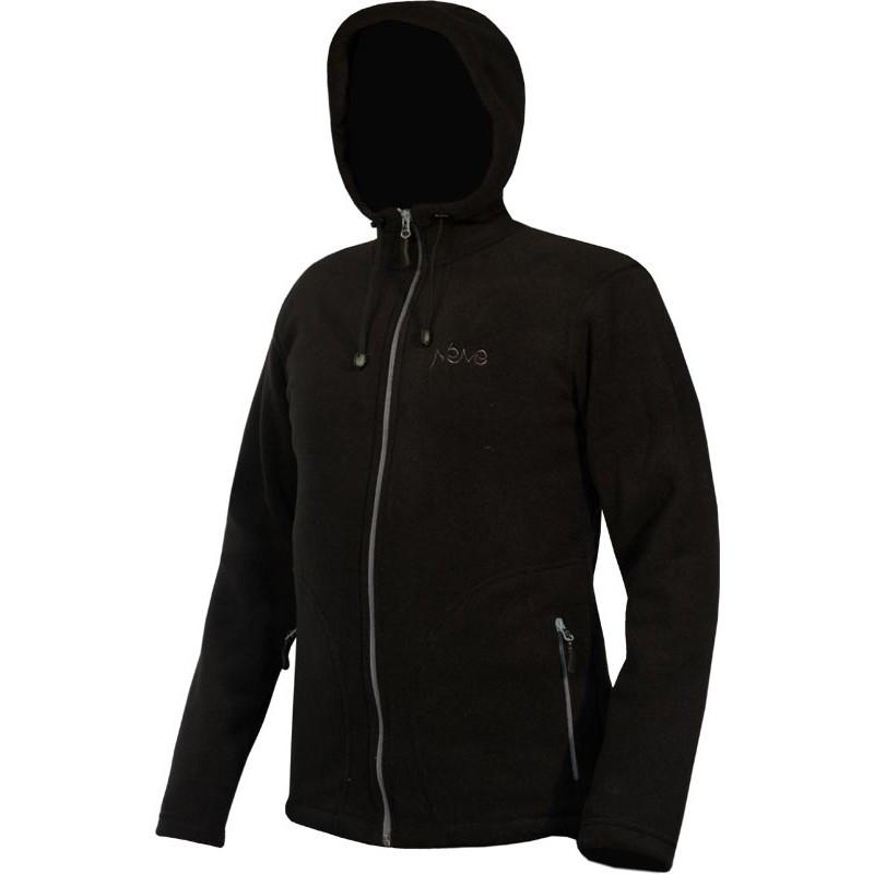 Мужская спортивная флисовая кофта Neve Scream черная