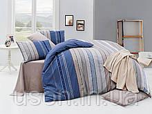 Комплект постельного белья ранфорс  Nazenin Ruling royal