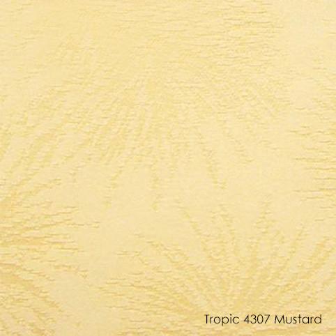 Вертикальные жалюзи Tropic-4307 mustard