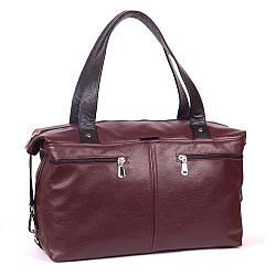 Женская кожаная сумка 43 виноград 01430104-01