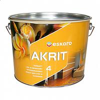 Краска латексная ESKARO AKRIT 4 интерьерная 9,5 л