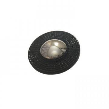 Пуговицы ПА - 474 д-р 28мм серебро/черный