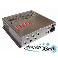 БУС-4-06-450MW блок управління четырехцветными світлодіодними світильниками, кількість драйверів - 6