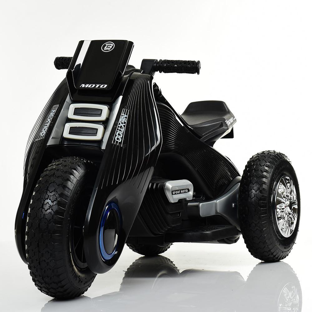 Электромобиль мотоцикл M 3926A-2 черный BAMBI