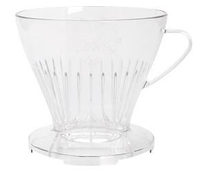 Пуровер для заваривания кофе Melitta Filtercone 1x4 Premium прозрачный