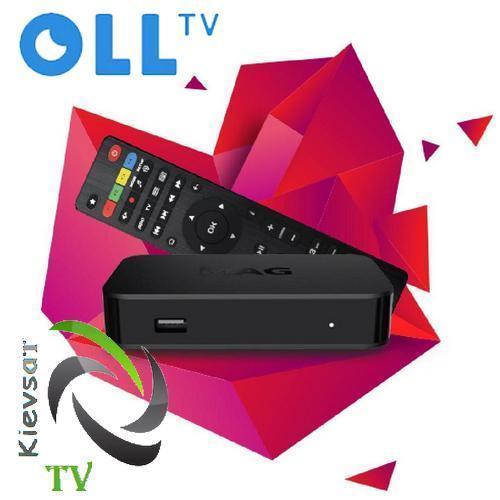 Oll TV Set-Top Box  MAG420   «Старт + Футбол» на 12 месяцев, Linux, UHD 4K