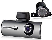 X3000AV видеорегистратор автомобильный с двумя камерами