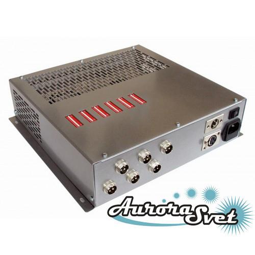 БУС-4-06-600MW блок управления четырехцветными светодиодными светильниками, кол-во драйверов - 6
