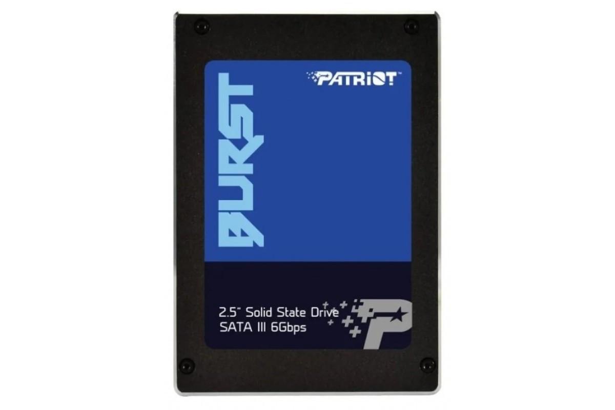 "Накопитель SSD 2.5"" 480GB Patriot Burst (PBU480GS25SSDR) ."