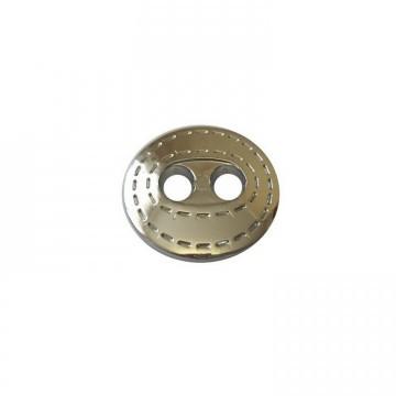 Пуговицы ПА - 536 д-р 25мм серебро