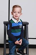 Детские утепленные джинсы для мальчика Zeyser Турция 42061 темно-синий