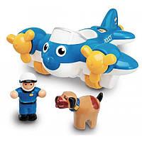 Игровой набор Police Plane Pete Полицейский самолет WOW TOYS 10309, фото 1