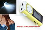 MP3 Плеєр+Екран+Ліхтарик+Динамік +USB+навушники, фото 4