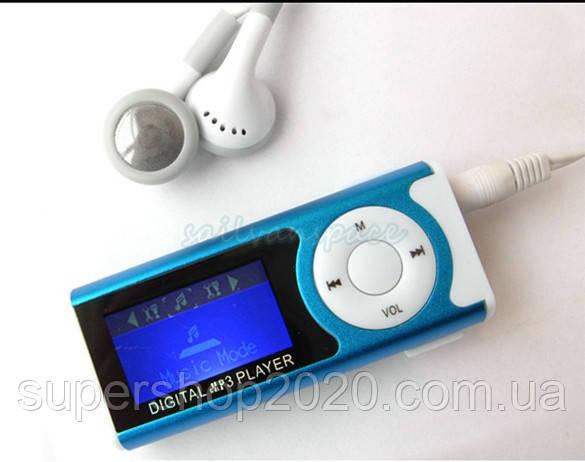 MP3 Плеєр+Екран+Ліхтарик+Динамік +USB+навушники