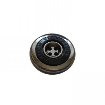 Пуговицы ПА - 559 д-р 30мм черный/блек никель