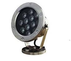 Подводный 9W 3000K светодиодный светильник Ecolend