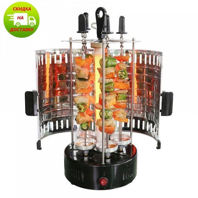 Электрошашлычница BBQ Domotec на 6 шампуров