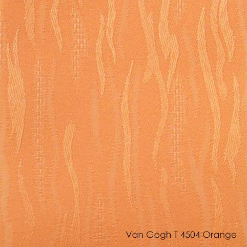 Вертикальные жалюзи Vangogh t-4504 orange