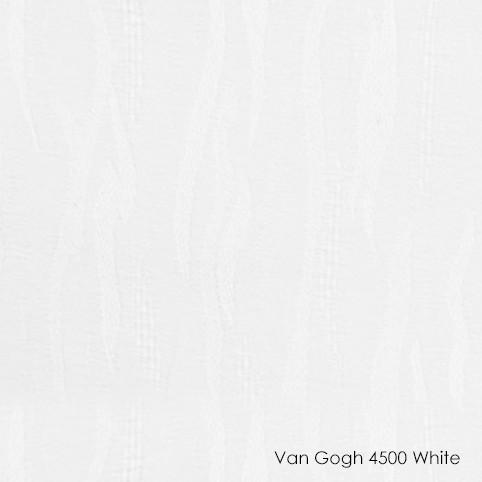 Вертикальные жалюзи Vangogh-4500 white