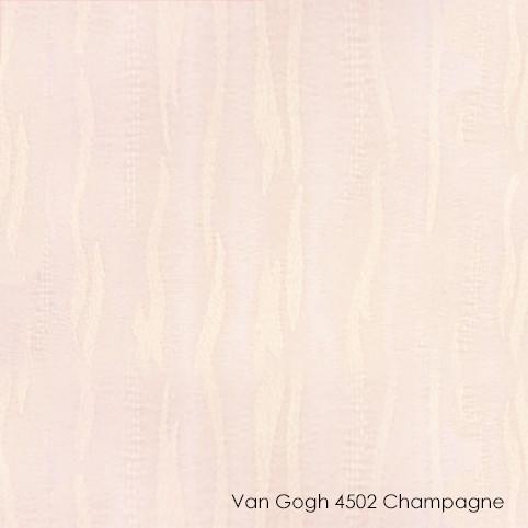 Вертикальные жалюзи Vangogh-4502 champagne