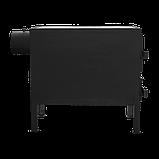 Отопительно-варочная печь КВД 150 с чугунной плитой на две конфорки, фото 6