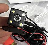 Камера дзеркало відеореєстратор 2 дві камери з камерою заднього виду, автомобільний реєстратор, фото 8