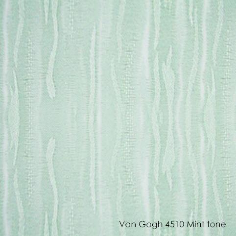 Вертикальные жалюзи Vangogh-4510 mint tone