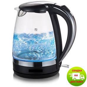 Чайник электрический с подсветкой   Чайник електричний з підсвічуванням Domotec MS 8210
