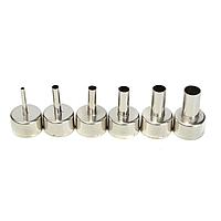 Насадки для термофена 3 -12 мм паяльных станций (5 штук в наборе)