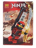 Мини конструктор Lloyd  для мальчиков NINJA 31146 NJ оружие в коробке Ниндзяго