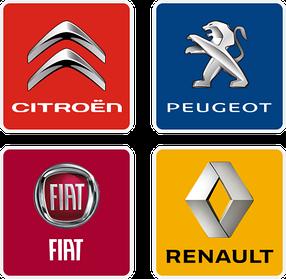 Запчастини та комплектуючі для автомобілів Peugeot, Citroen, Renault, FIAT