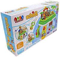 Развивающая игрушка столик - конструктор и зоопарк, с различными эффектами, JDLT 5322