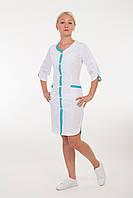 Медицинский халат женский из батиста размер: 40-60