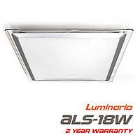 Потолочный светодиодный светильник LUMINARIA ALS-18 AC170-265V 18W 5000K, нейтральный белый свет (квадрат)