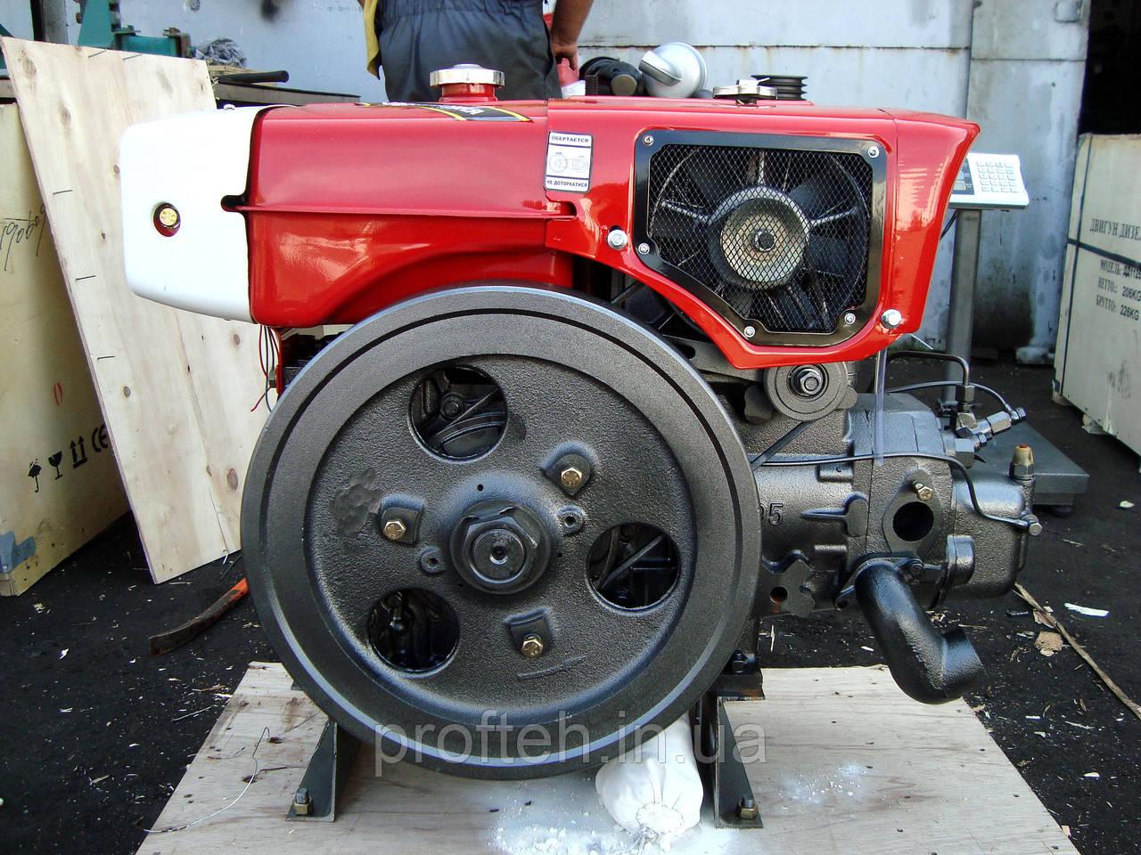 Дизельный двигатель Кентавр ДД195В Premium (14,0 л.с., дизель, ручной стартер)