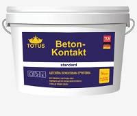 Грунтовка адгезивная пигментированная Beton Kontakt Totus 2.5 кг