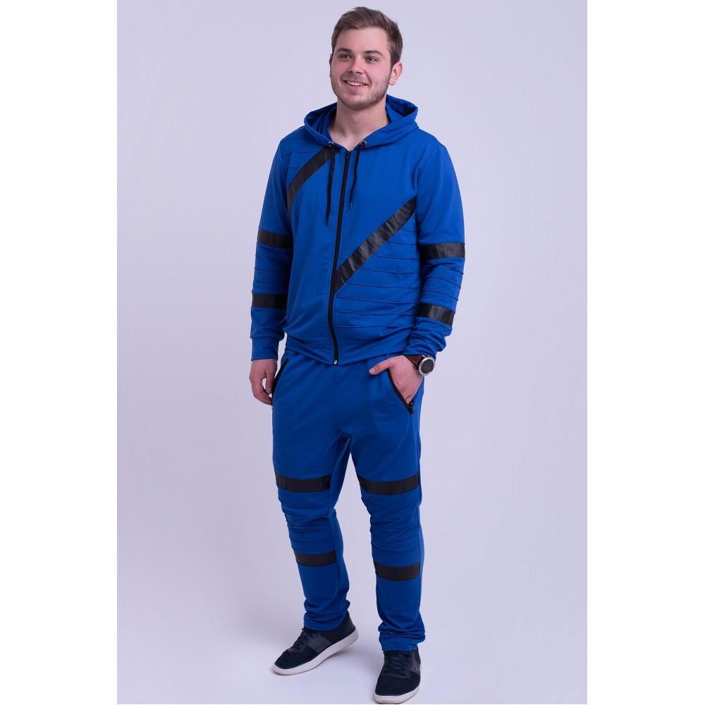Мужской спортивный костюм Конти электрик( 48-56)