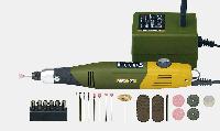 Набор моделиста, гравера. Бормашина PROXXON МИКРОМОТ 60/E, сетевой адаптер, 34 расходных инструмента, фото 1