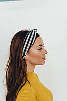 Повязка на голову Лиреа черная