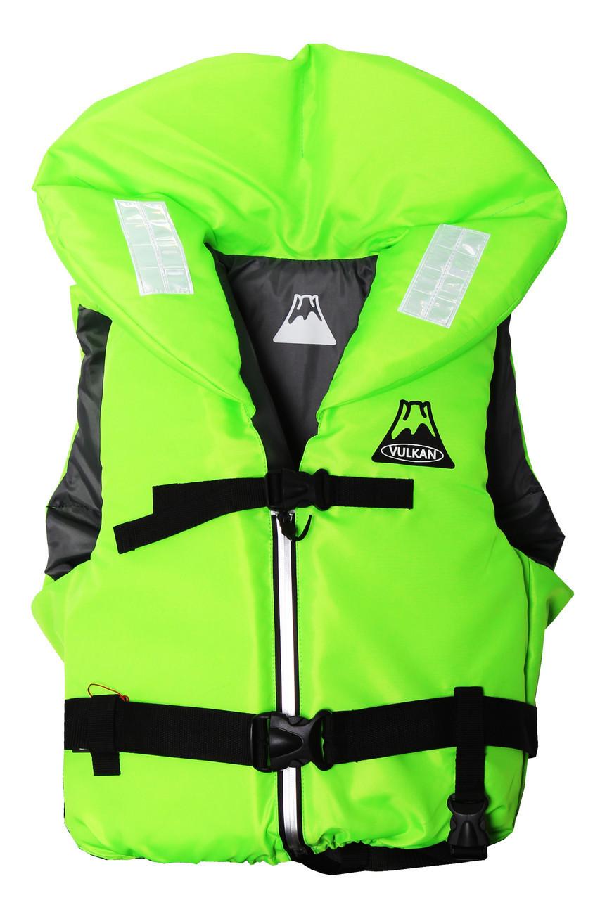 Спасательный жилет зеленый Vulkan Neon green M (60-70 кг)