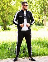 Мужской спортивный  костюм Miracle c  лампасами олимпийка  штаны