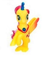 Лошадка  русалка - единорог Z 215-16 LP Little Pony Оранжевая игрушка для девочек Литл Пони