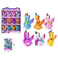 Лошадка русалка единорог Z 215-16 LP Little Pony Сиреневая игрушка для девочек Литл Пони