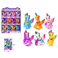 Лошадка  русалка единорог Z 215-16 LP Little Pony Белая игрушка для девочек Литл Пони