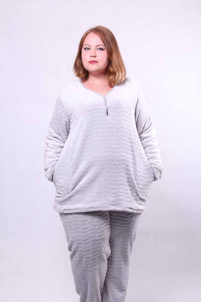 """Махровая женская пижама """"Soft """"р.44-56"""
