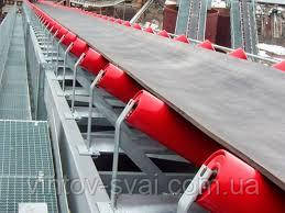Стрічковий конвеєр ширина стрічки 650 мм, довжиною 2 м