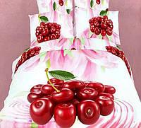 Постельное белье Love You Вишенки Двуспальный евро комплект