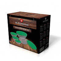 Набор стеклянных контейнеров для пищи Blaumann 10 предметов BL 3363