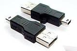 Адаптер USB (тато) - miniUSB (тато), фото 2
